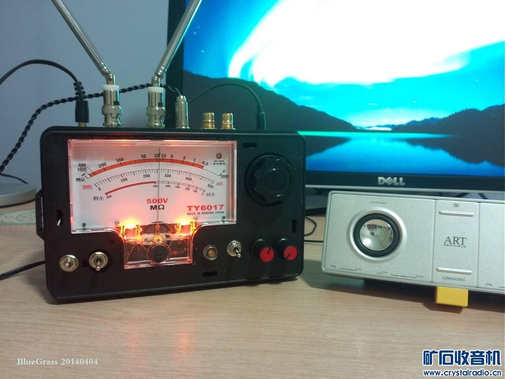 用ALPS顶级高频头制作的AM FM收音机
