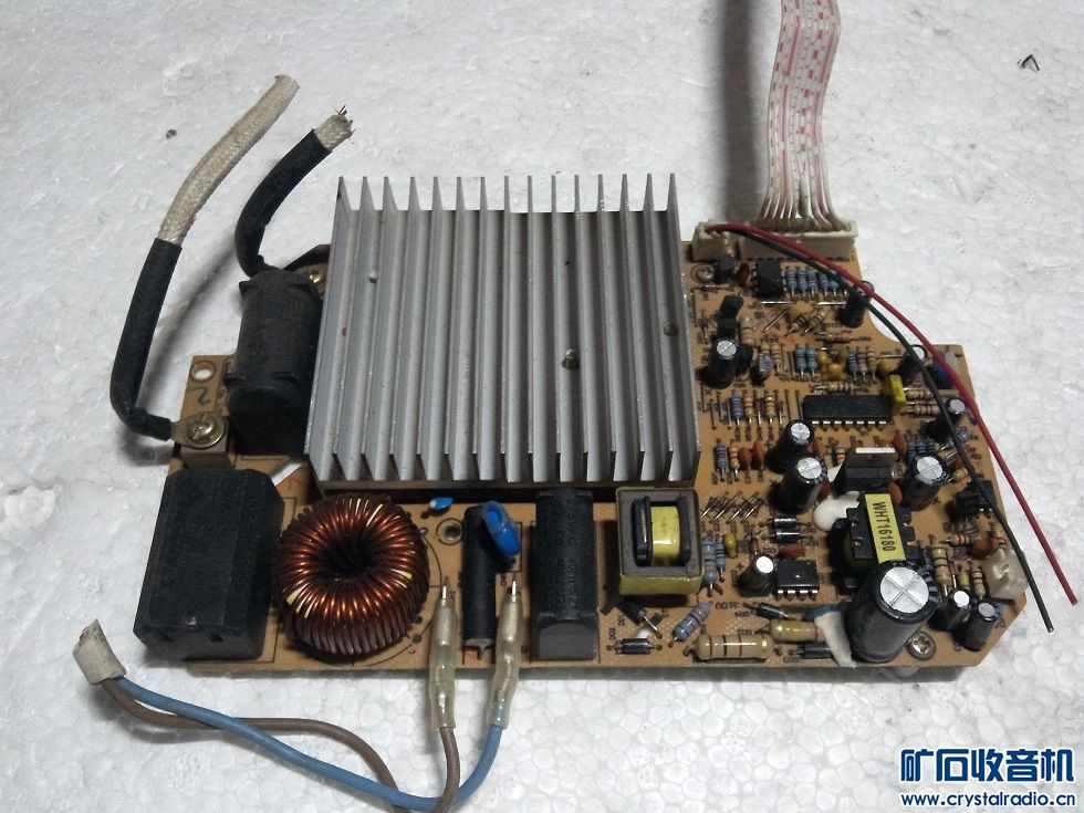 电磁炉板子,大管没短路,没法测试,10元.jpg