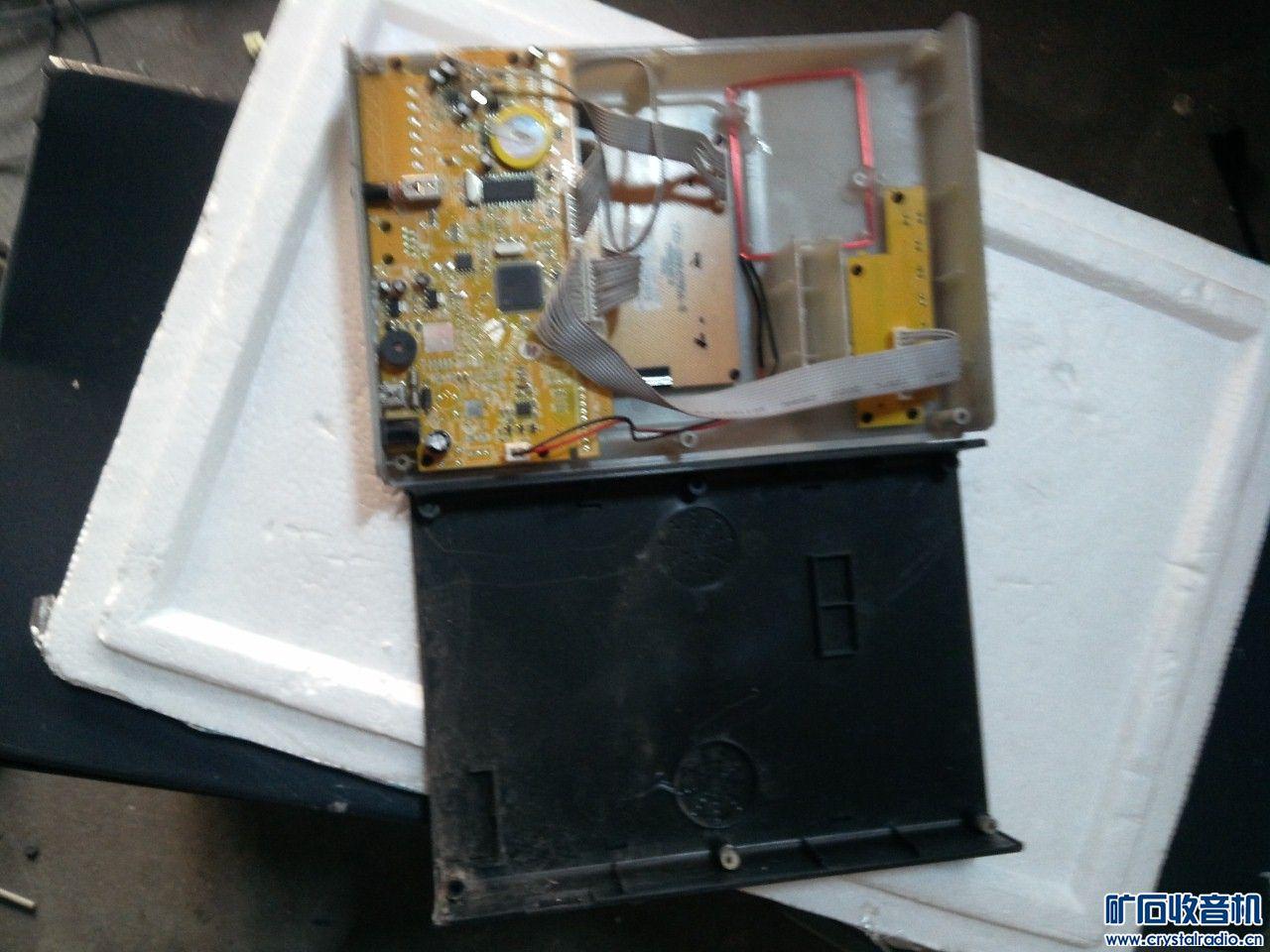无线打卡主机,上电操作正常,就是背光灯有点闪,研究价15元 (2).jpg