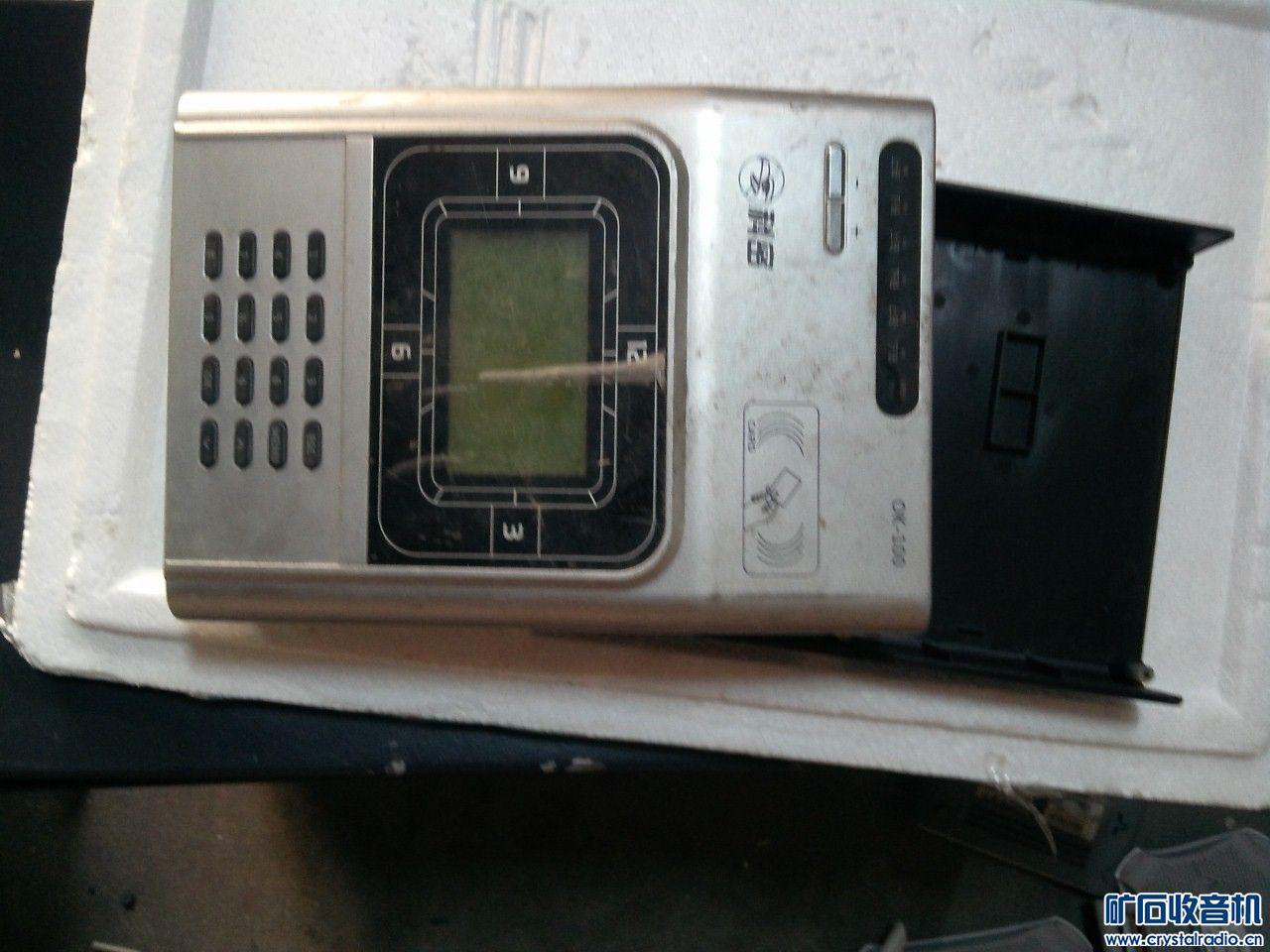无线打卡主机,上电操作正常,就是背光灯有点闪,研究价15元.jpg