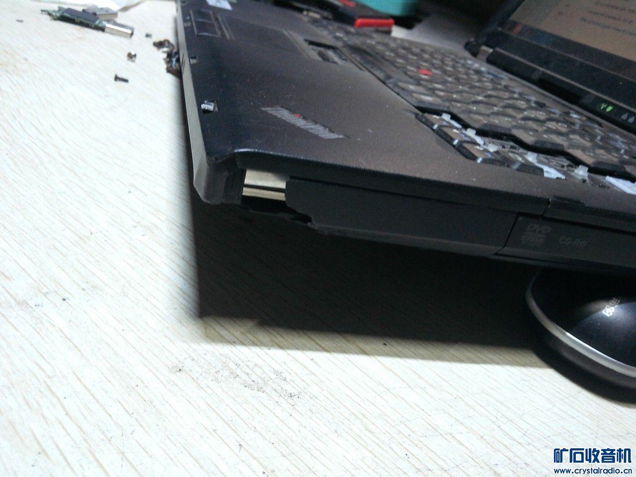 联想ThinkPad笔记本,配置如图,键盘有掉了一些(能用),硬盘处的壳破损了点,CDf有点.jpg