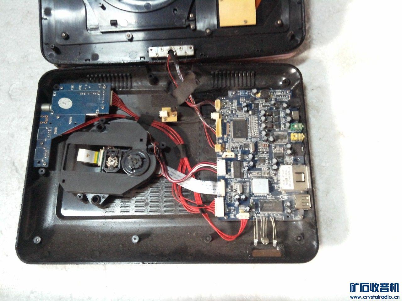 移动DVD,出板子带壳,DVD,电视,AV,收音等功能,40元.jpg