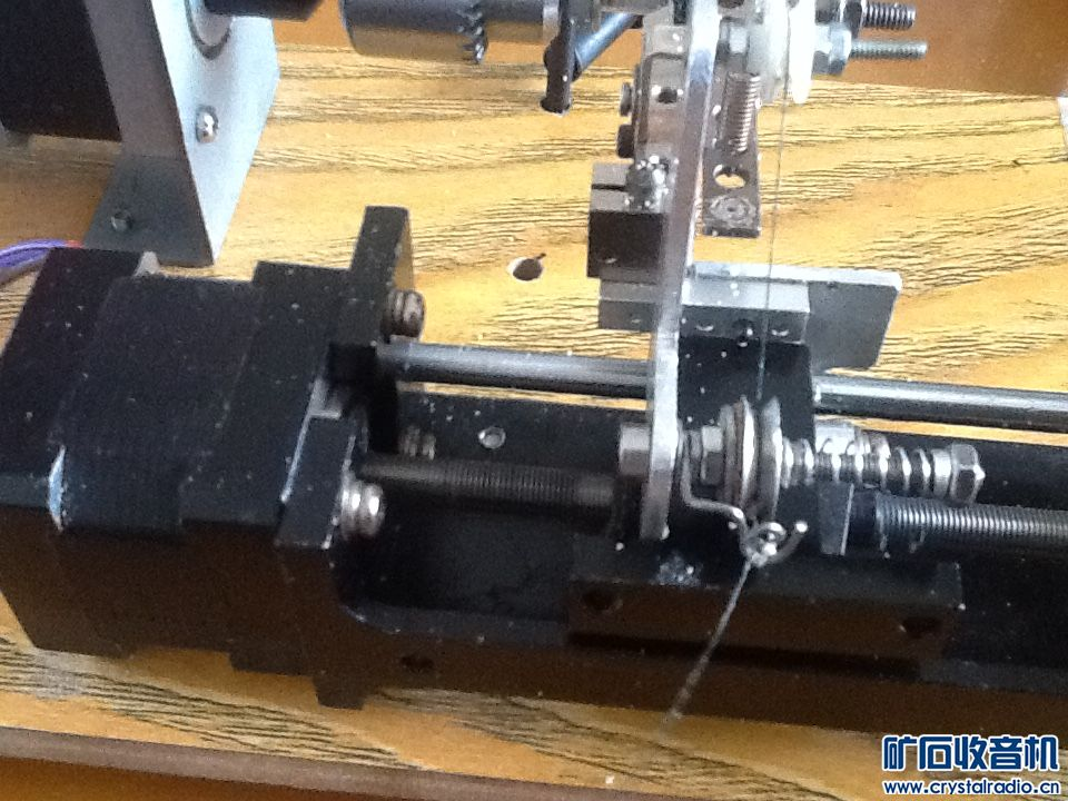 用oldwood-hmgh老师的单片机做的蜂房绕线机基本成功