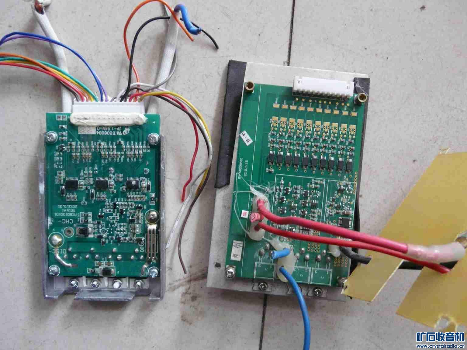 两个锂电池拆的板子 26包快递处理