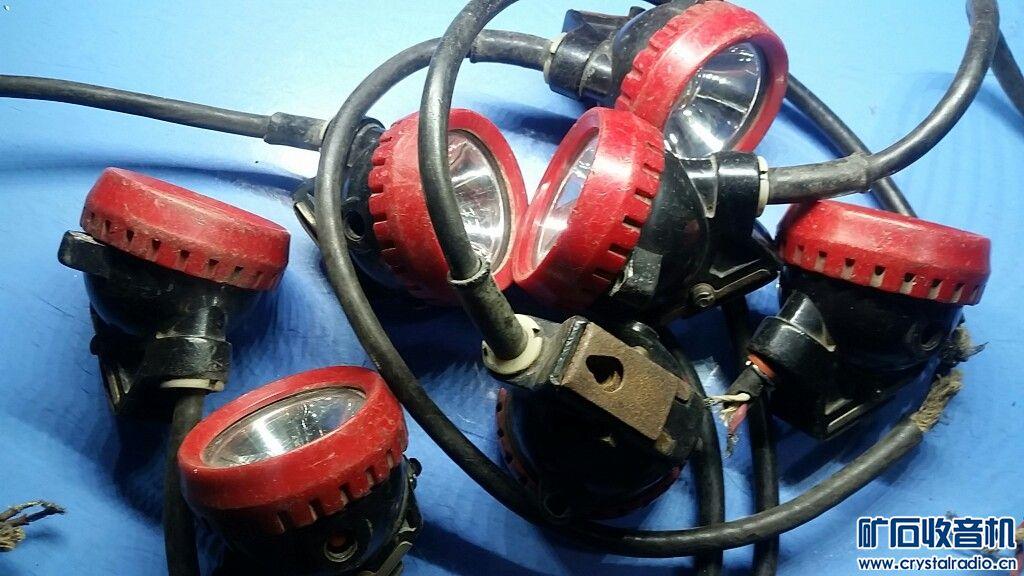 5个3.2v铁锂电池矿灯灯头,可做3.2v电池充电器用,7个5个能点亮,40元包快(单件)