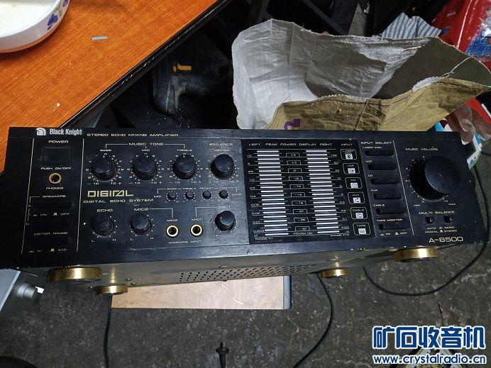 台产黑武士好功放带卡拉OK,好听,A970,C2240管子,音量电位器不良,160元.jpg