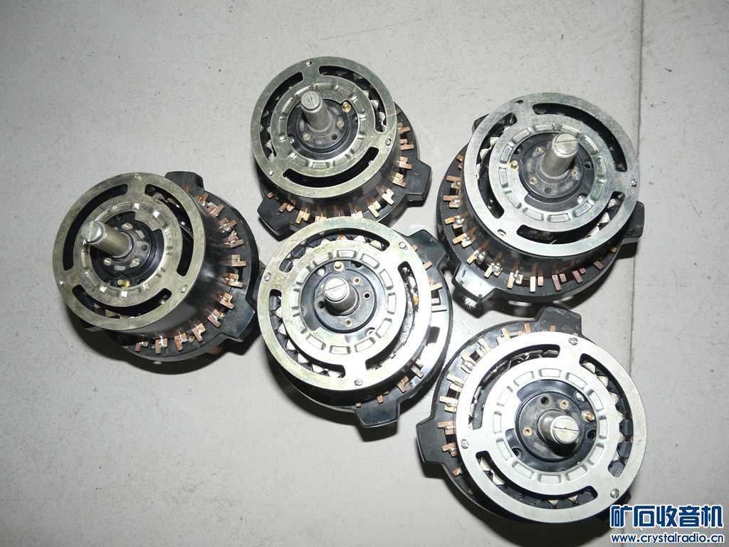 电阻箱拆的电阻轮子  5个一起100处理 不包邮