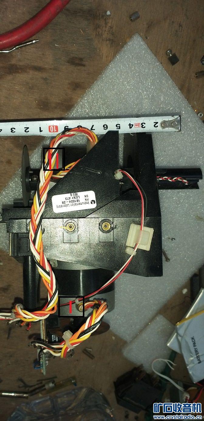 步进电机组合(3),60元,1号电机可带动2号电机上下活动。