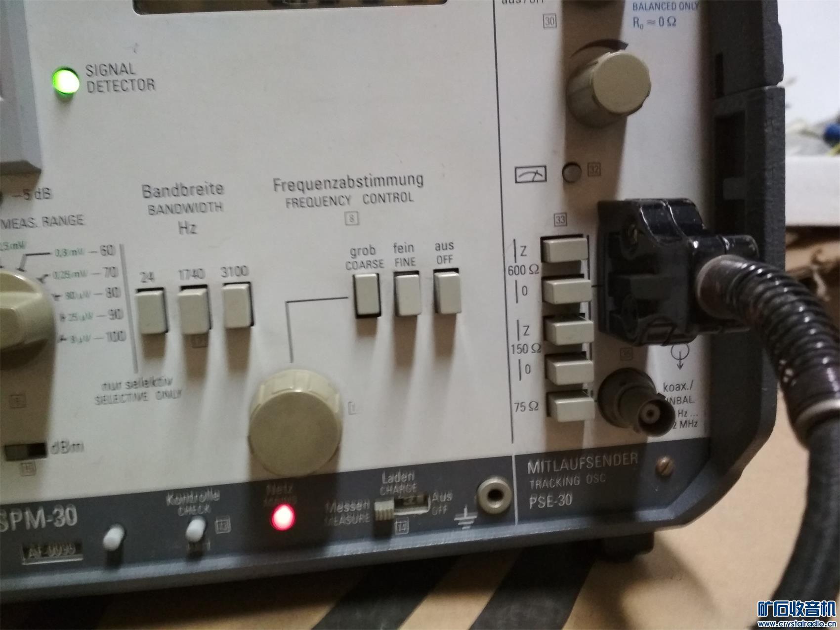 3200号德国大品牌仪表信号发生器及电平选频一体化仪表1500元不邮 (12).jpg
