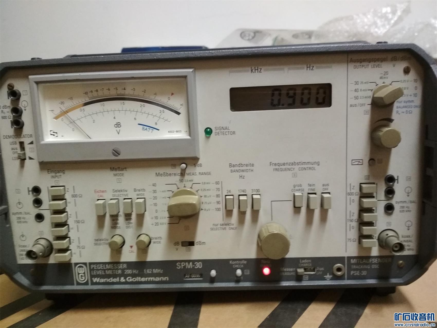 3200号德国大品牌仪表信号发生器及电平选频一体化仪表1500元不邮 (10).jpg