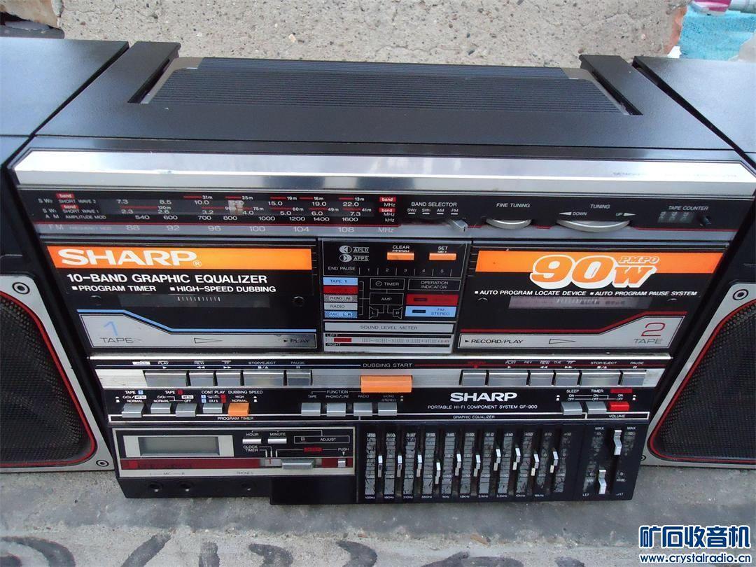 日本夏普900收录机