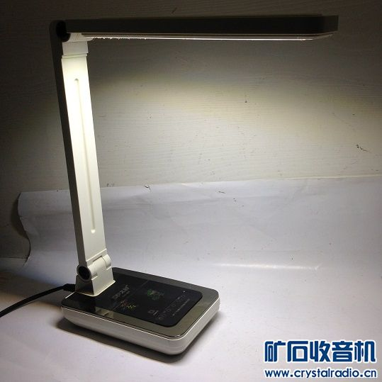 4.拆叠无级调光LED书写台灯 正常使用 19元