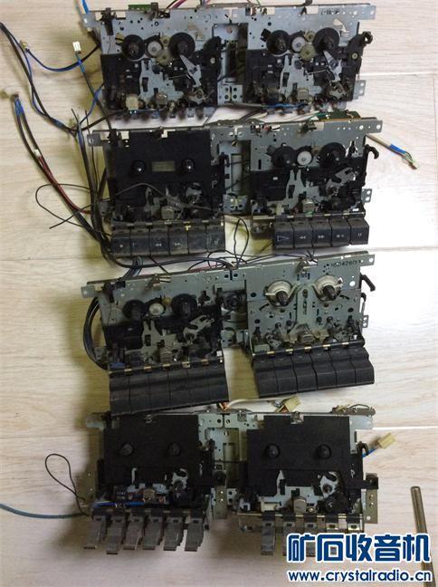 21磁带机芯4套22包快递,打包3公斤。