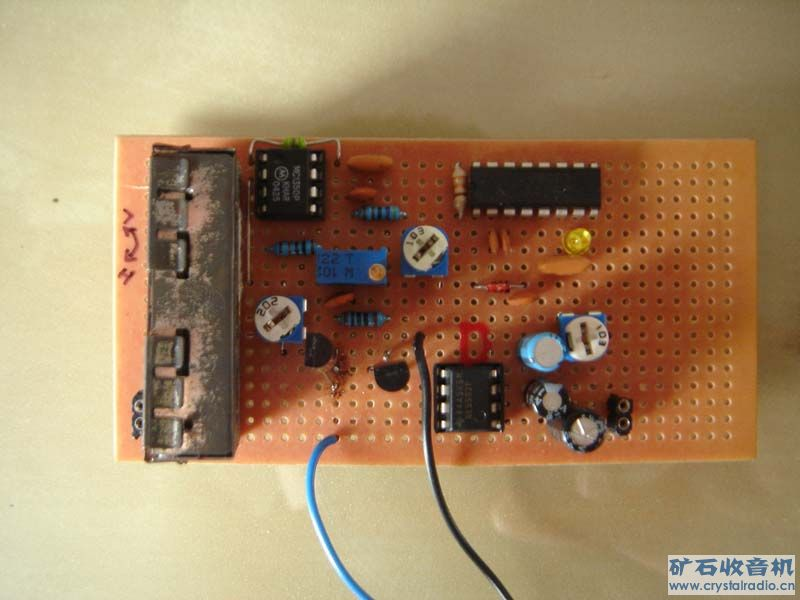 高频头FM收音机试验成功